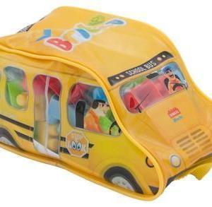 LUNA Bulding Blocks School Bus (44 pieces) 20x10x9.5