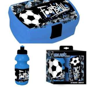 Football LUNCH SET (water bottle & lunch box)