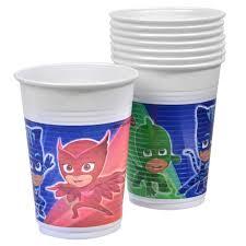 PJ Masks Plastic Cups 200ml (8 pieces)
