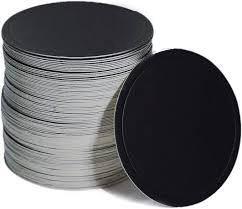 25 BLACK Round mini Cake Boards 9.3cm – Thin