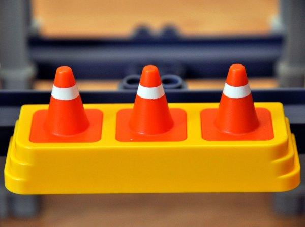 Chuggington Playset Cones