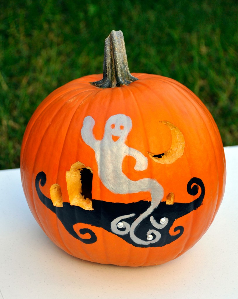 How To Carve And Paint A Pumpkin