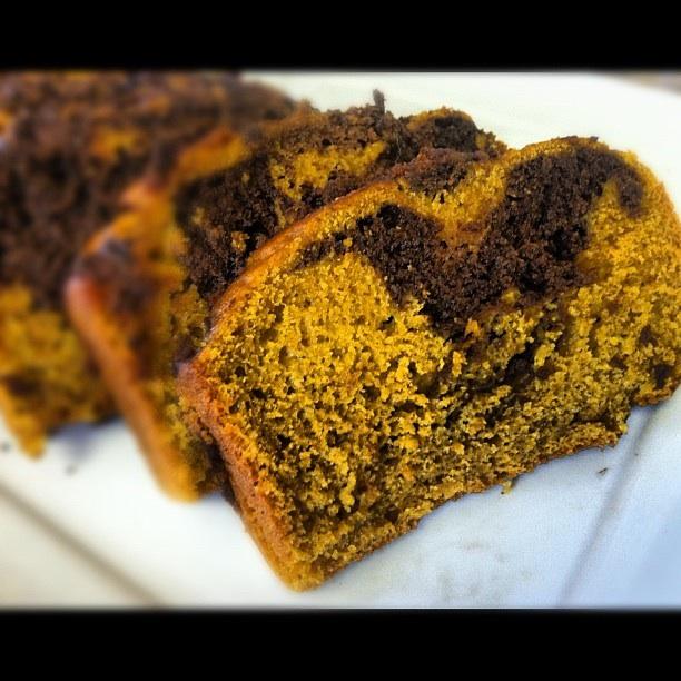 Pumpkin Chocolate Bread