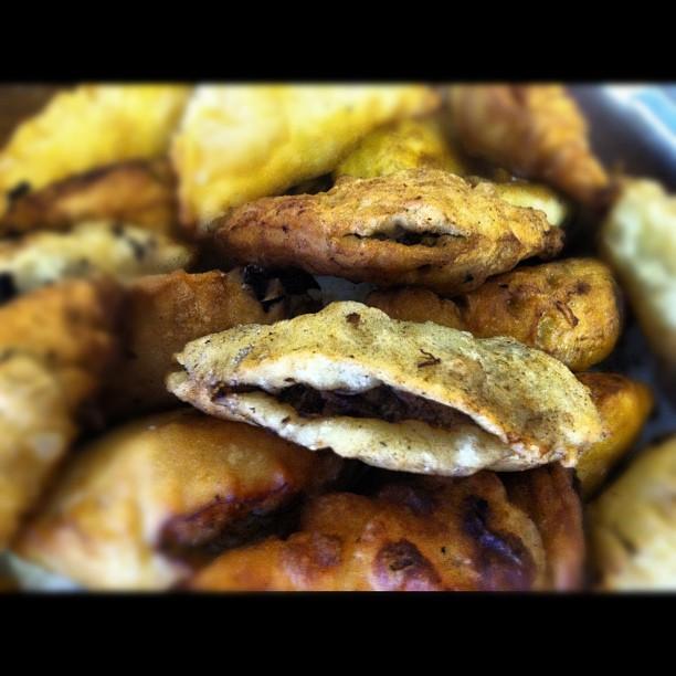 Sweet & Spicy Chicken Apple Empanadas