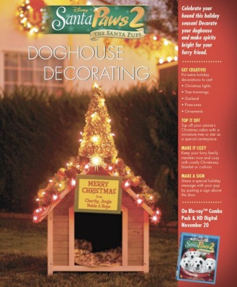 Decorate a Doghouse