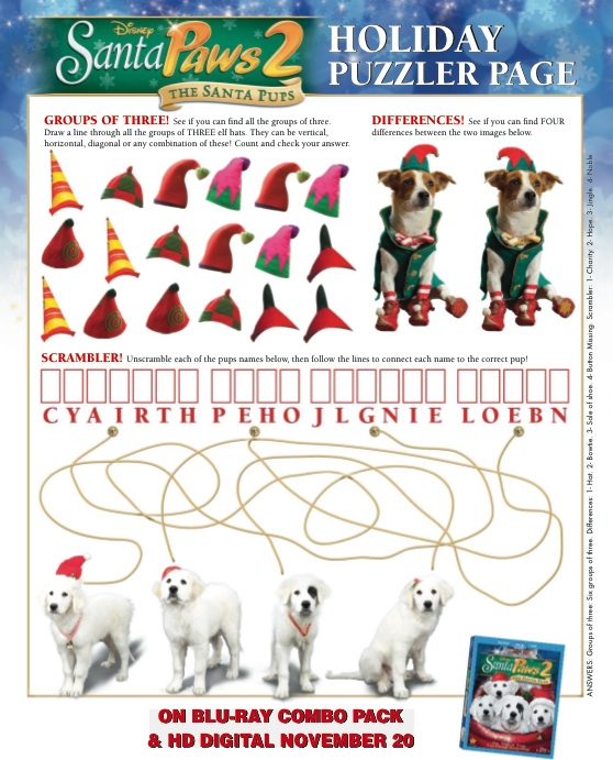 Holiday Puzzler