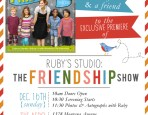 The Friendship Show Invite