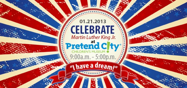 Martin Luther King Jr. Day at Pretend City Children's Museum