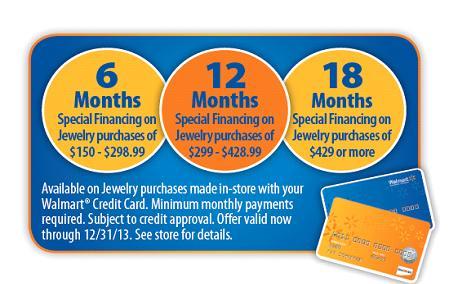 walmart jewelry finance policy - Wedding Ring Financing