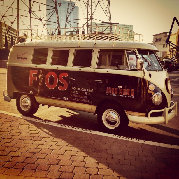 Verizon FiOS VW Bus