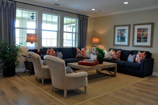 Charleston at River Village Living Room