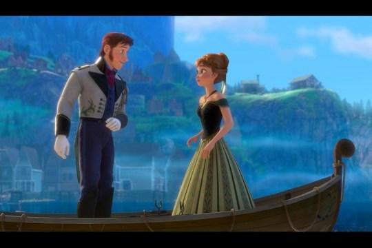 Prince Hans and Princess Anna