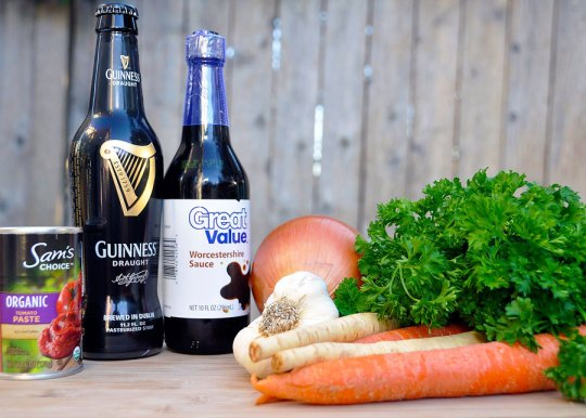 Guinness Stew Ingredients