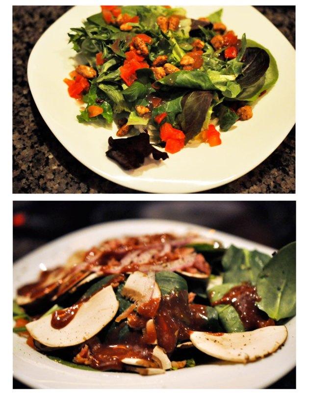 Salads at The Melting Pot