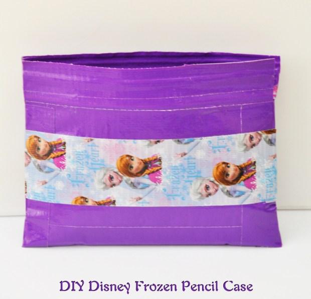 DIY Disney Frozen Pencil Case