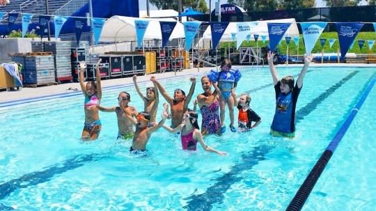 Swimming With Dara Torres