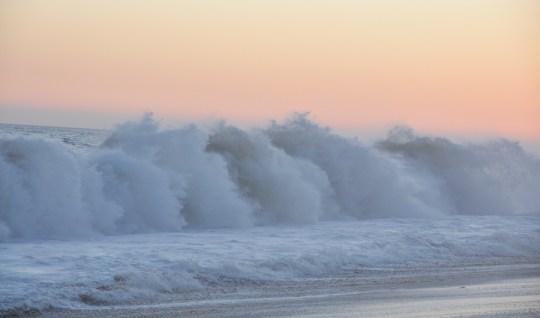Waves at Dusk