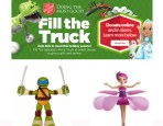 Walmart and The Salvation Army Fill the Truck