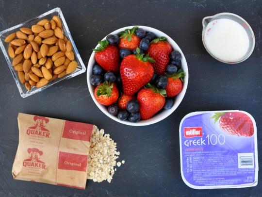 Swiss Oatmeal Ingredients