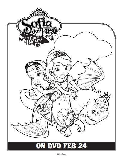 Sofia the first printables and activities inspired by the for Sofia the first coloring pages games