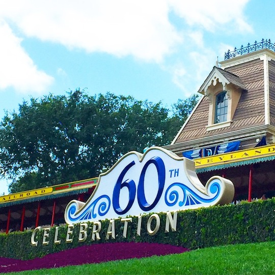 Disneyland 60th Celebration