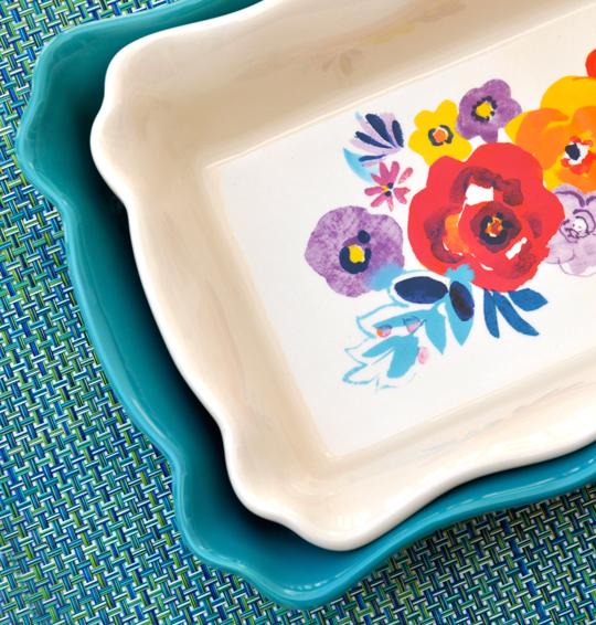 Pioneer Woman Flea Market Bakeware Set