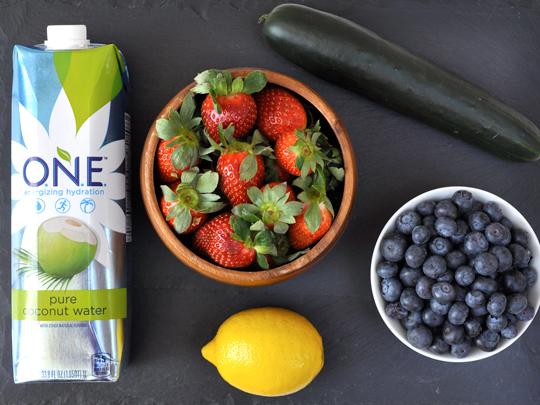 Blueberry Juice Ingredients