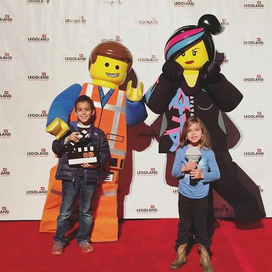 LEGO Movie 4D Premiere