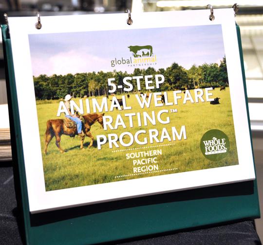Whole Foods Animal Welfare Rating Program