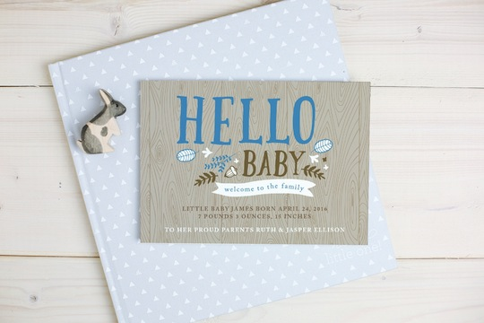 Baby Announcement - Basic Invite