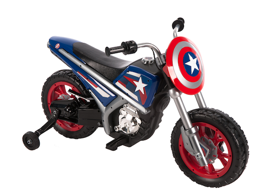 6 V Captain America Battery Operated Motorcycle