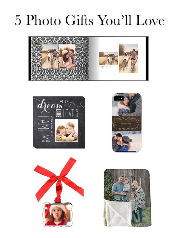 Photo Gifts You Will Love