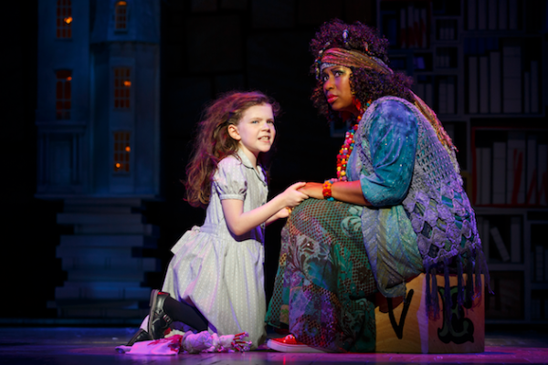 Matilda and Mrs Phelps - Matilda the Musical