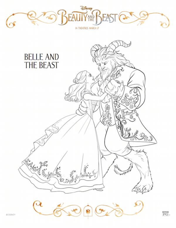 Belle and the Beast - Beauty and the Beast