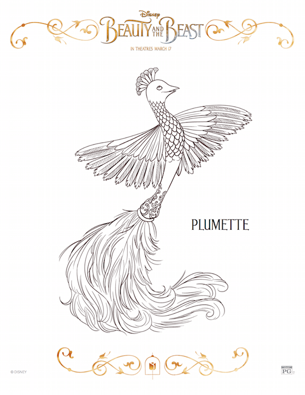 Plumette - Beauty and the Beast