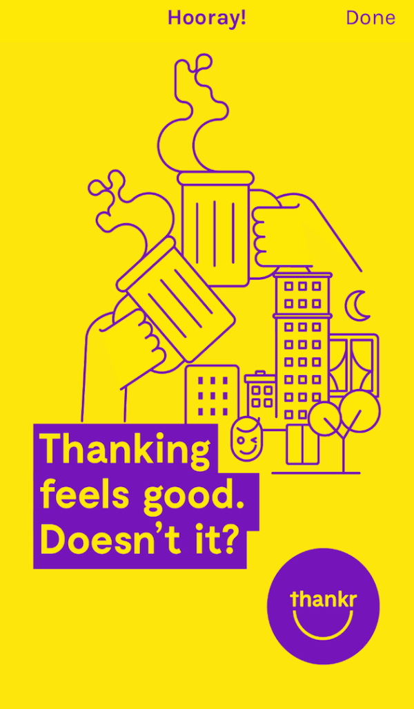 Digital Thank You Note