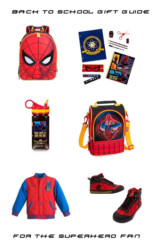 Back-To-School Gift Guide For The SuperHero Fan
