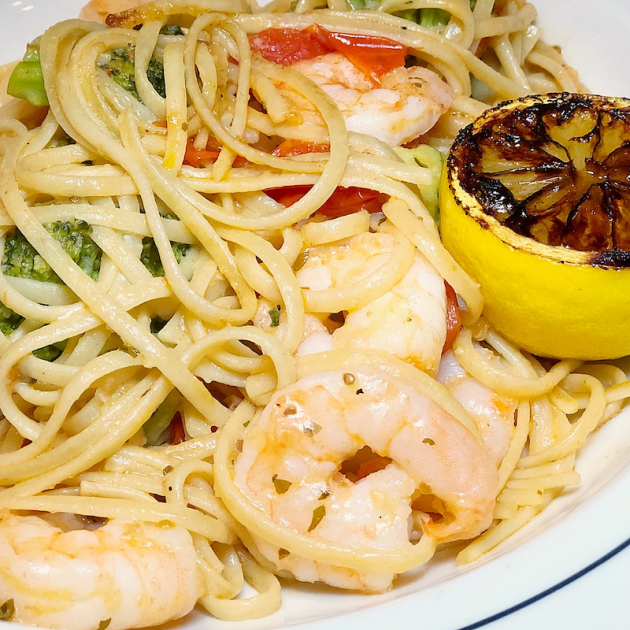 Coastal Shrimp Pasta