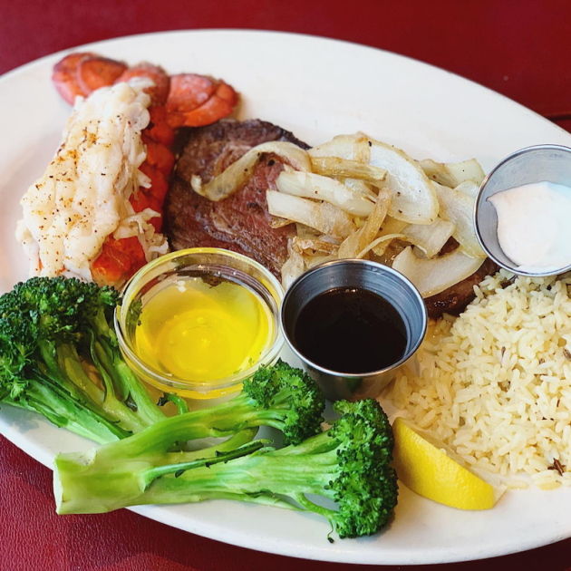Lobster and Prime Rib Dinner