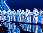 Stormtroopers in Rise of the Resistance