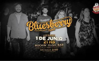Bluesberry Band en Rockin Music Bar