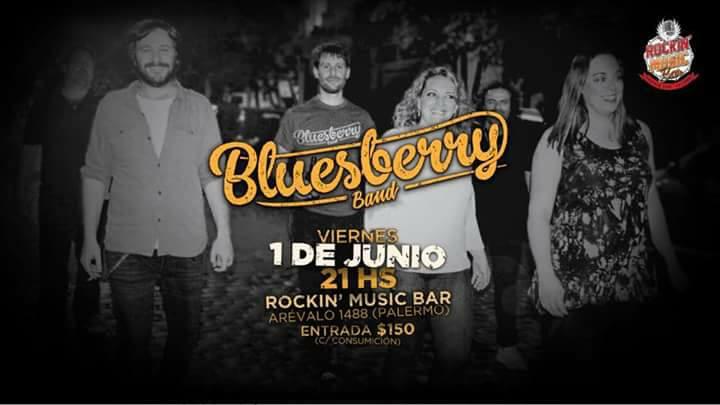 Bluesberry Band en Rockin Music Bar