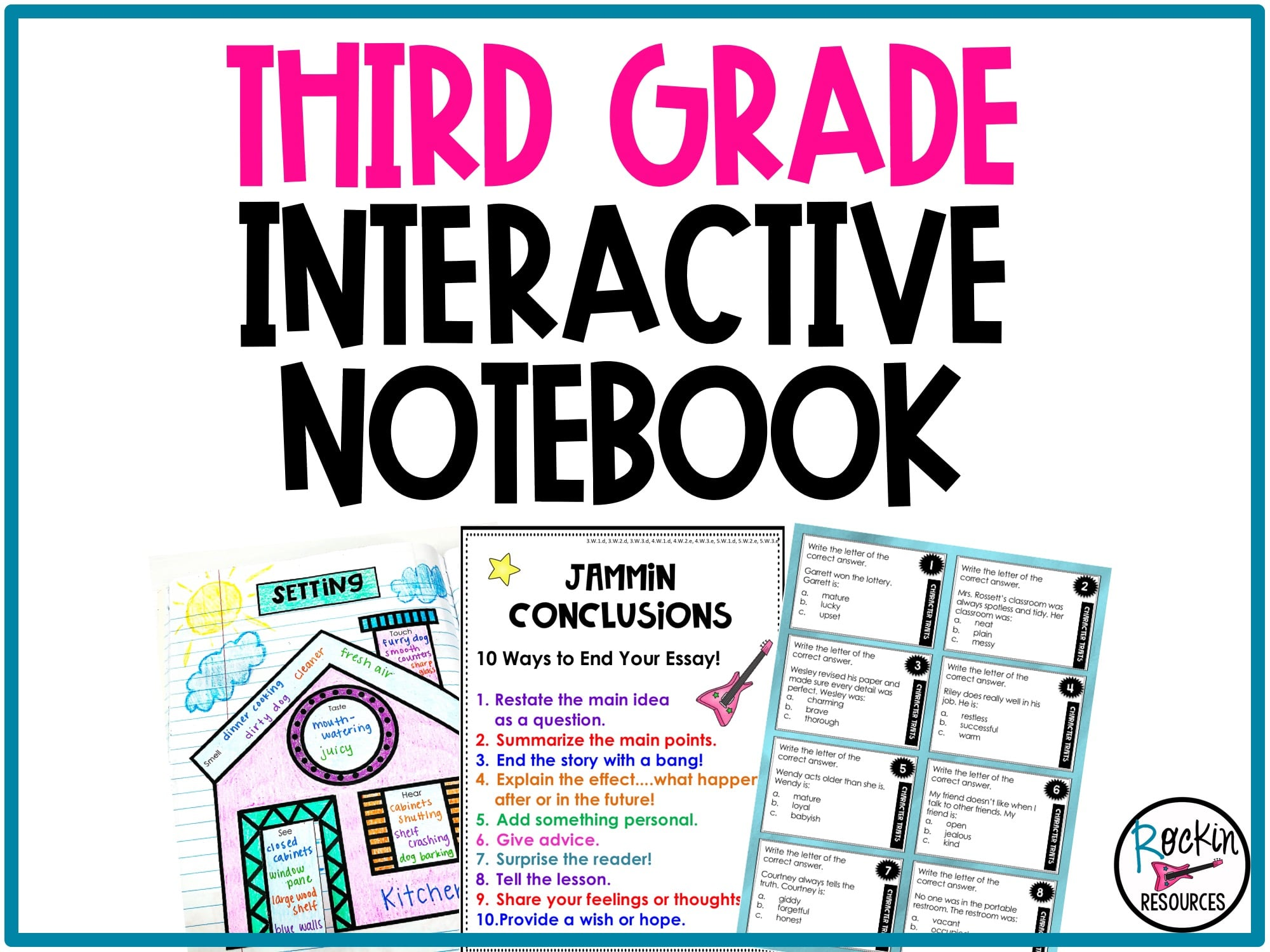 writing activities for 3rd grade common core