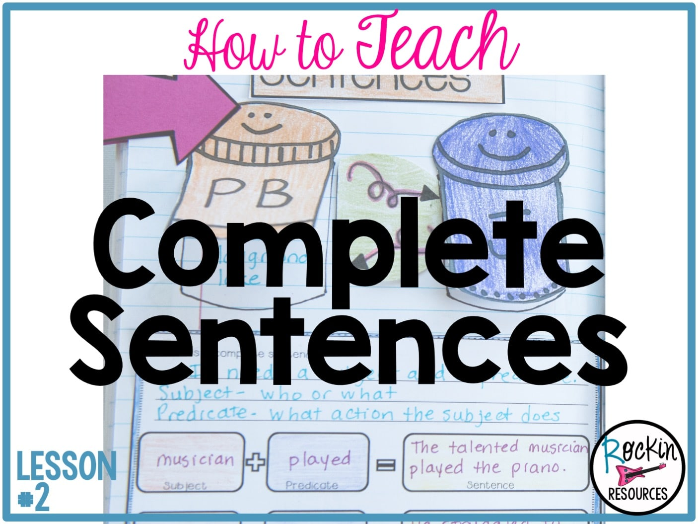 Writing Mini Lesson 2 Complete Sentences