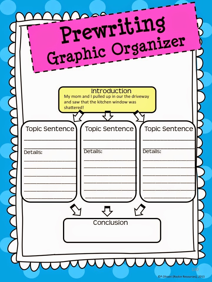 graphic organizer for narrative essay Personal narrative graphic organizer focuses on a small nugget of time suggests ways for students to create a hook allows for planning of sensory descriptions of setting and characters guides students in creating the beginning, middle, end, and conclusion of their personal narrative with key di.