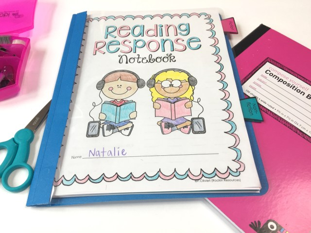 Reading Response Notebook Example