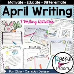 April Writing Prompts 2 - Product