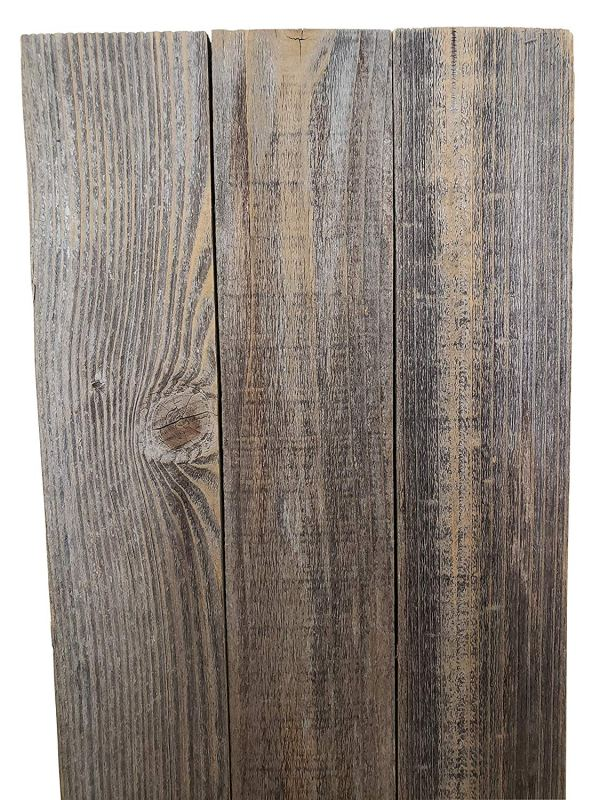 Rustic Shutters Made from 100% Reclaimed Weathered Wood