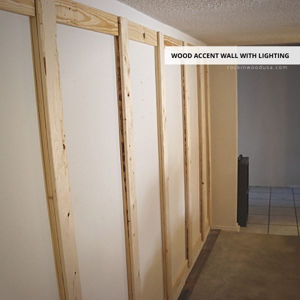 Frame support for Reclaimed Wood Planks
