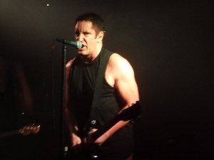 Nine Inch Nails Trent Reznor At The Troubadour